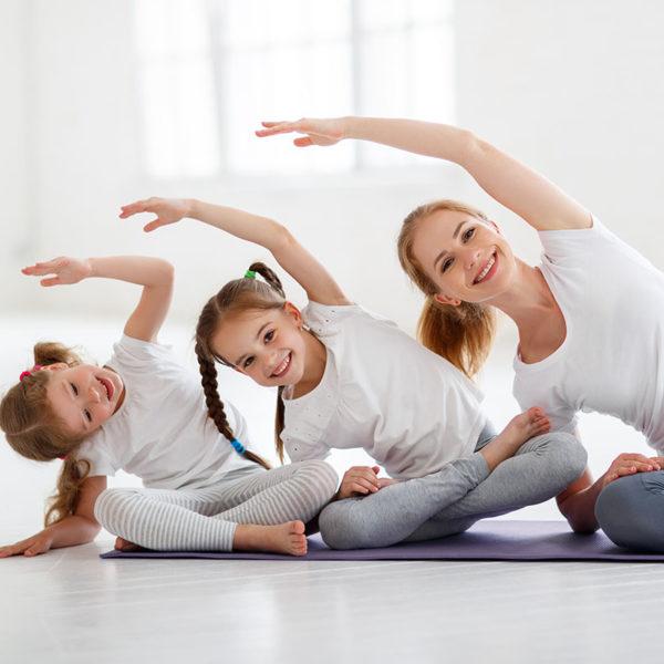 Jóga pro děti (3–6 let) s rodiči