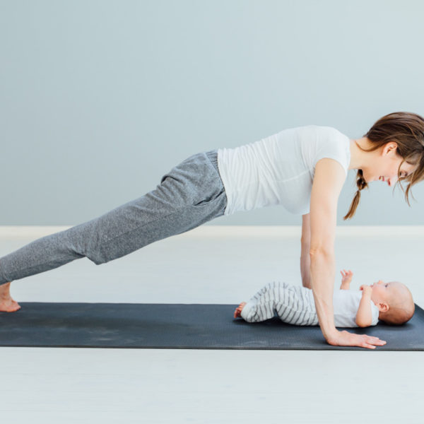 Pilates and baby